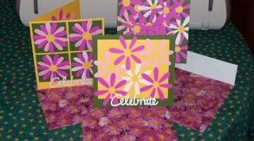 Handmade Pink Flower Cards For Any Occasion!