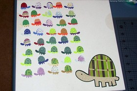How To Make A Belated Birthday Card And/Or A Major Milestone Birthday Card With A Turtle Theme