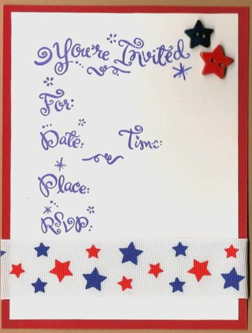 tis the season for handmade party invitations the cardmaking