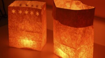 How to Make a Holiday Luminary