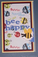How To Make A Bee Happy Birthday Pocket Card