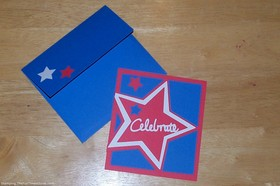 Handmade Star Card – Great For Congratulating Superstars & Celebrating Holidays