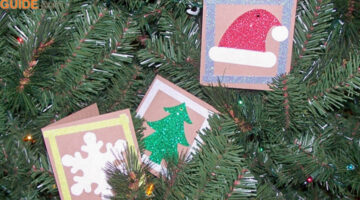 Repurposed Gift Tags: DIY Christmas Card Ideas