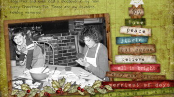 Page Toppers, Phrases & Titles For Christmas Scrapbook Pages