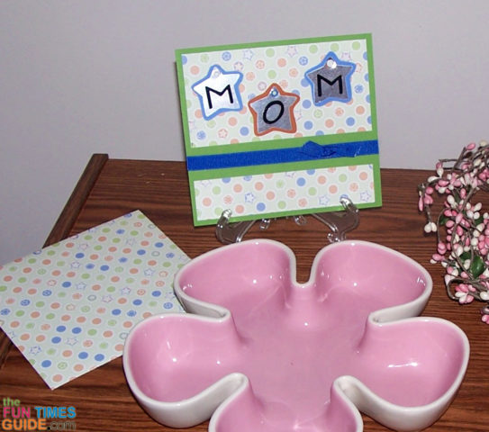 Mom Youre The Best A Handmade Mothers Day And Birthday Card – How to Do Birthday Card