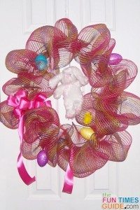 easter-mesh-wreath