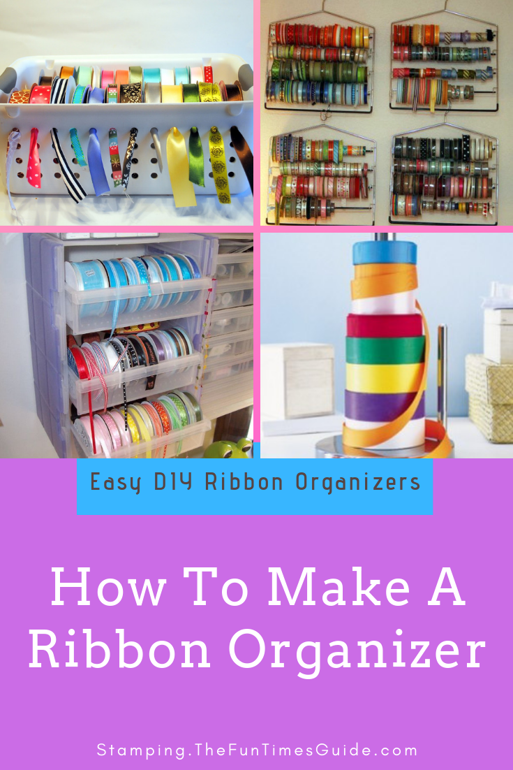 DIY Ribbon Organizers You Can Make Yourself (...Plus One You Can Buy)