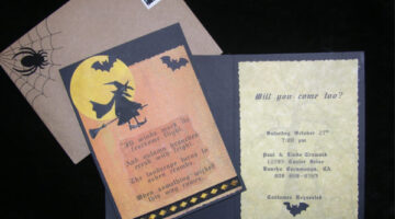 VIDEO: 3 Really Unique Ways To Make Halloween Party Invitations!