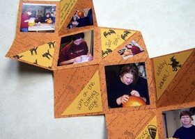 Fun With Halloween Rubber Stamps