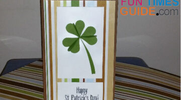 Handmade Shamrock Cards: See How To Make Easy 3D Clover St Patricks Day Cards