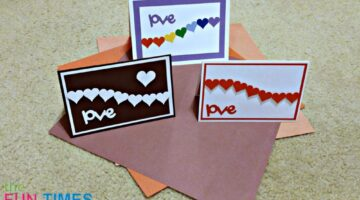 DIY Hearts Cards: 3 Ideas For Homemade Valentine Cards & LOVE Cards Featuring Hearts