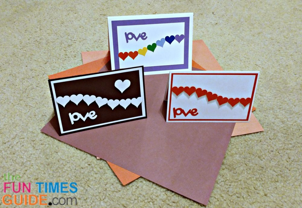 DIY Hearts Cards 3 Ideas For Homemade Valentine Cards LOVE – Home Made Valentine Card