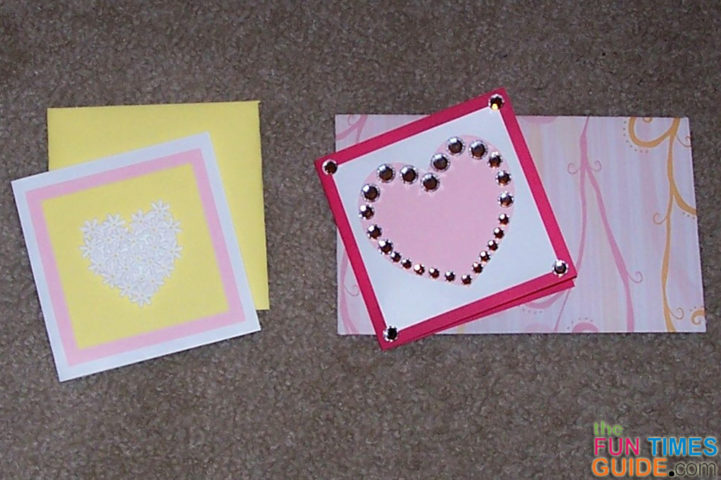 Make Your Own Valentines Day Cards 2 Super Quick Easy – Cute Valentine Cards Homemade