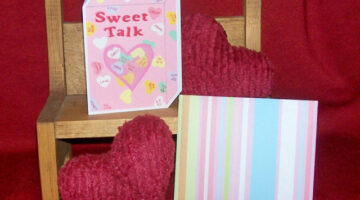 DIY Sweethearts Candy Card With Conversation Hearts: A Fun Valentine Card!