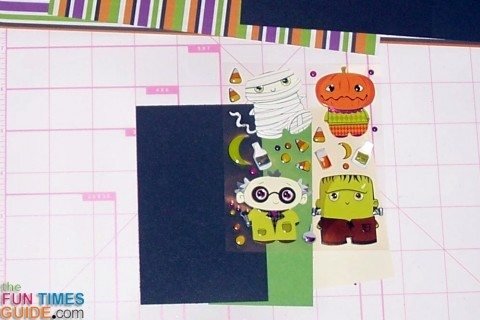 layering-stickers-on-paper