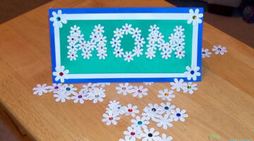 How To Make A Mothers Day Card Full Of Flowers