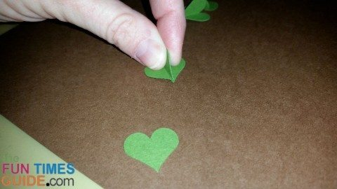 make-clover-hearts