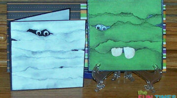 2 Super Simple Halloween Cards To Make: Little Franky & Ghost Mummy