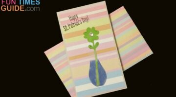 How To Make St. Patrick's Day Cards – Like This Lucky Four Leaf Clover Card