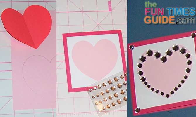 Make Your Own Valentines Day Cards 2 Super Quick Easy – Make a Valentine Card
