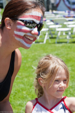 patriotic-face-painting