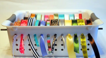 DIY Ribbon Organizers You Can Make Yourself (…Plus One You Can Buy)