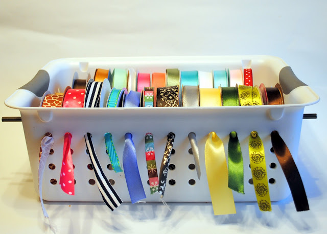Diy ribbon organizers you can make yourself us one you can buy diy ribbon organizers you can make yourself us one you can buy the cardmaking and crafts guide solutioingenieria Image collections