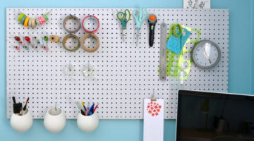 Craft Room Storage & Organization Ideas for Scrapbooking and Stamping