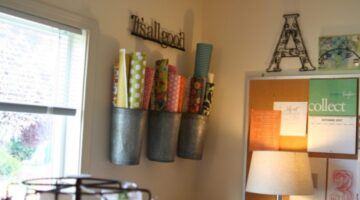 11 Fun Tips For Organizing Your Craft Room