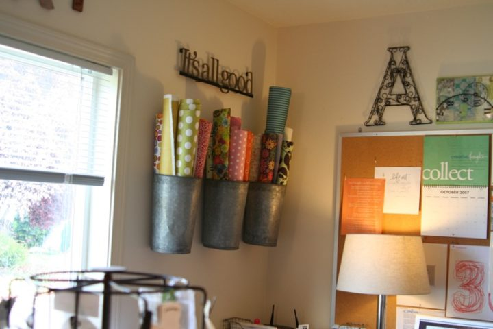 11 fun tips for organizing your craft room the for Cool ways to organize your room