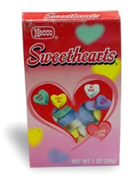 Using This Picture Of The Sweethearts Candy Box As A Guide, I Made My Very  Own Box Of Candy Hearts For The Cover Of This Handmade Valentine Card!