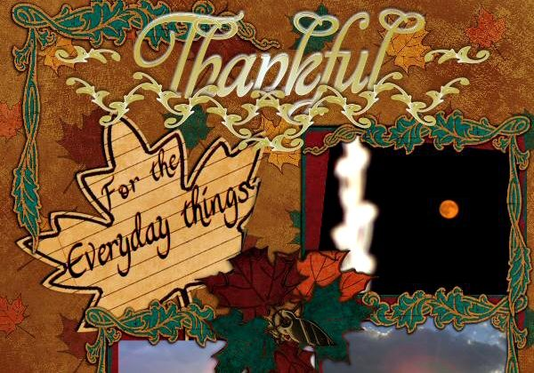 8 Clever Ideas For Making Thanksgiving Scrapbook Pages