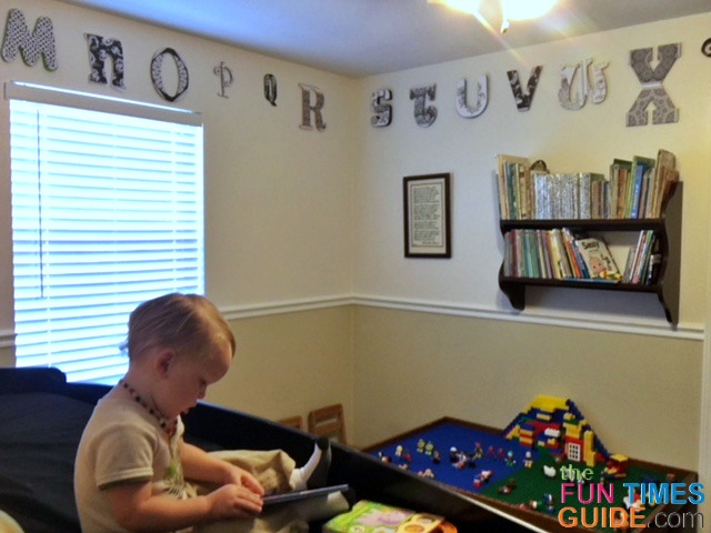 Wood Letter Painting Ideas See How I Used Wooden Alphabet Letters Adult Coloring Book Pages To Make Fun Toddler Bedroom Wall Decor The Art And Crafts Guide