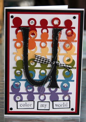 A Colorful Handmade Thank You Card Photo By Suzie At TheFunTimesGuide