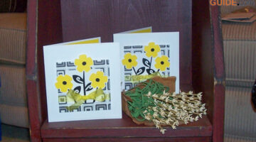 Handmade Yellow Flower Birthday Cards – Customizable For Any Happy Occasion