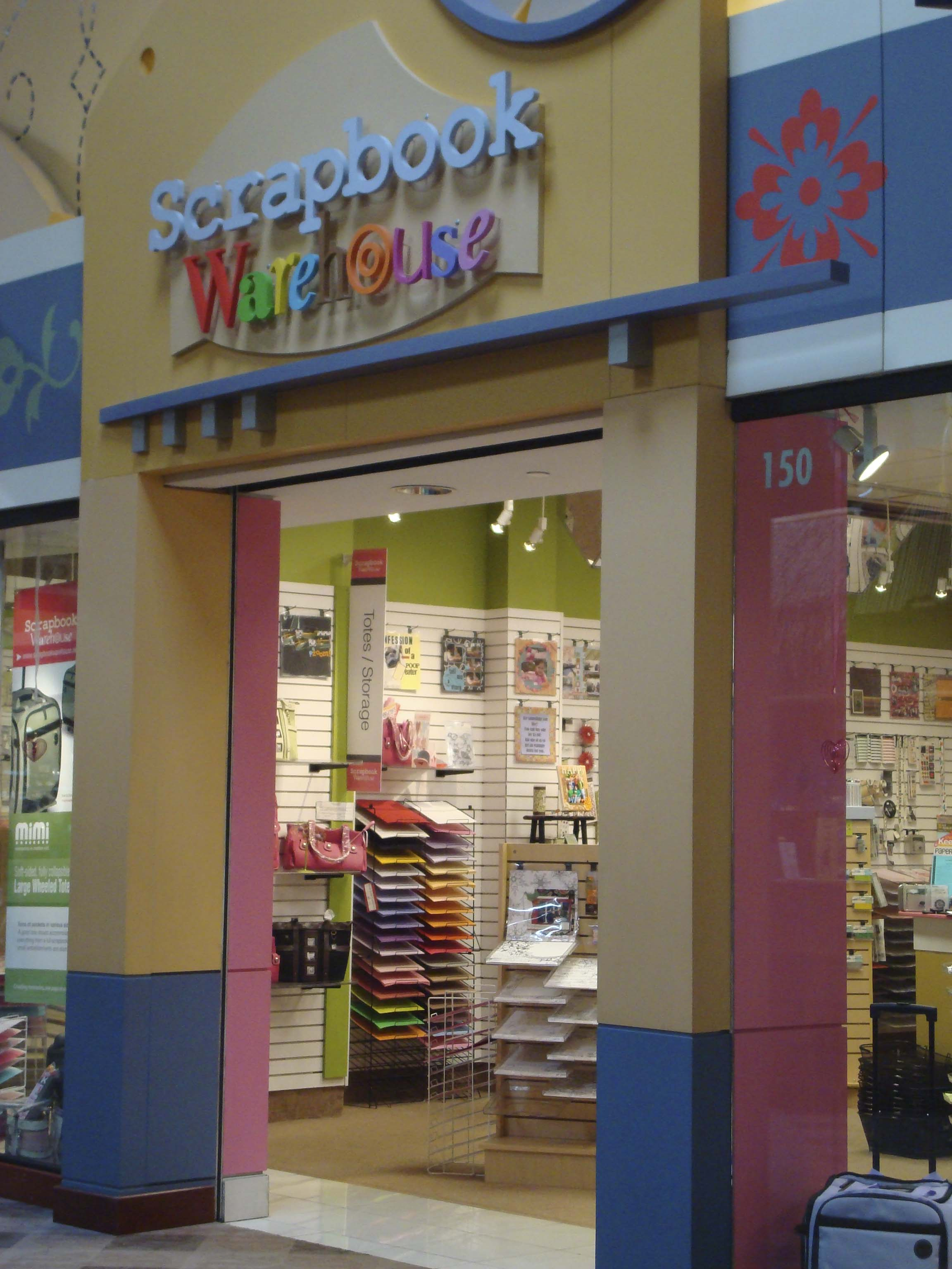 A New Scrapbook Supply Store At Opry Mills Mall The Art And Crafts