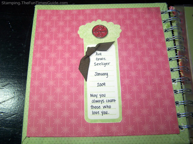 how to make a numbers book or counting book for baby the