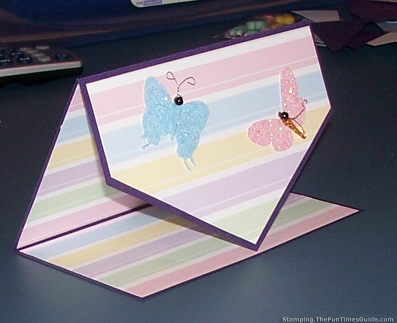 Handmade Card Idea: How To Make A Unique Tri-Fold Card | The
