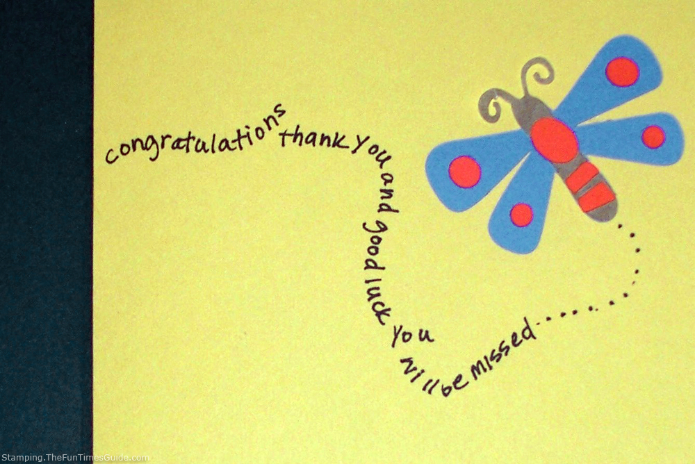 ... ? Need A Goodbye Card? Here's How To Make A Handmade Farewell Card