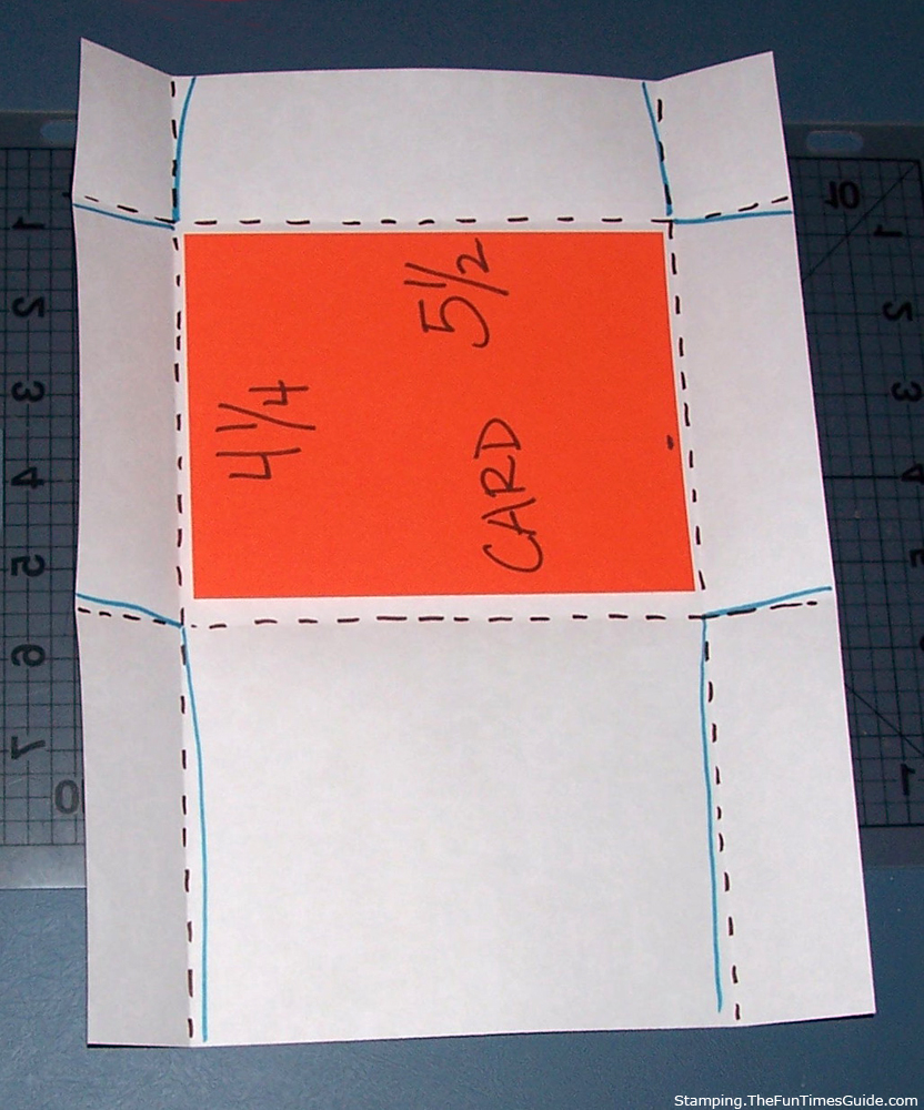 How to make envelopes for your handmade cards fun times guide to cardmaking and crafts for Homemade envelopes